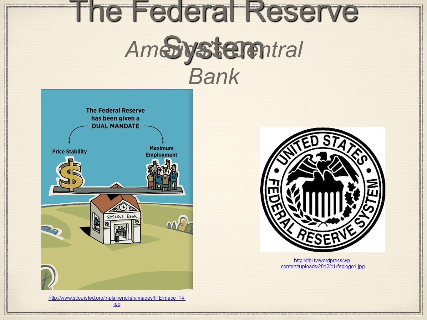The Federal Reserve System America's Central Bank   content/uploads/2012/11/fedlogo1.jpg