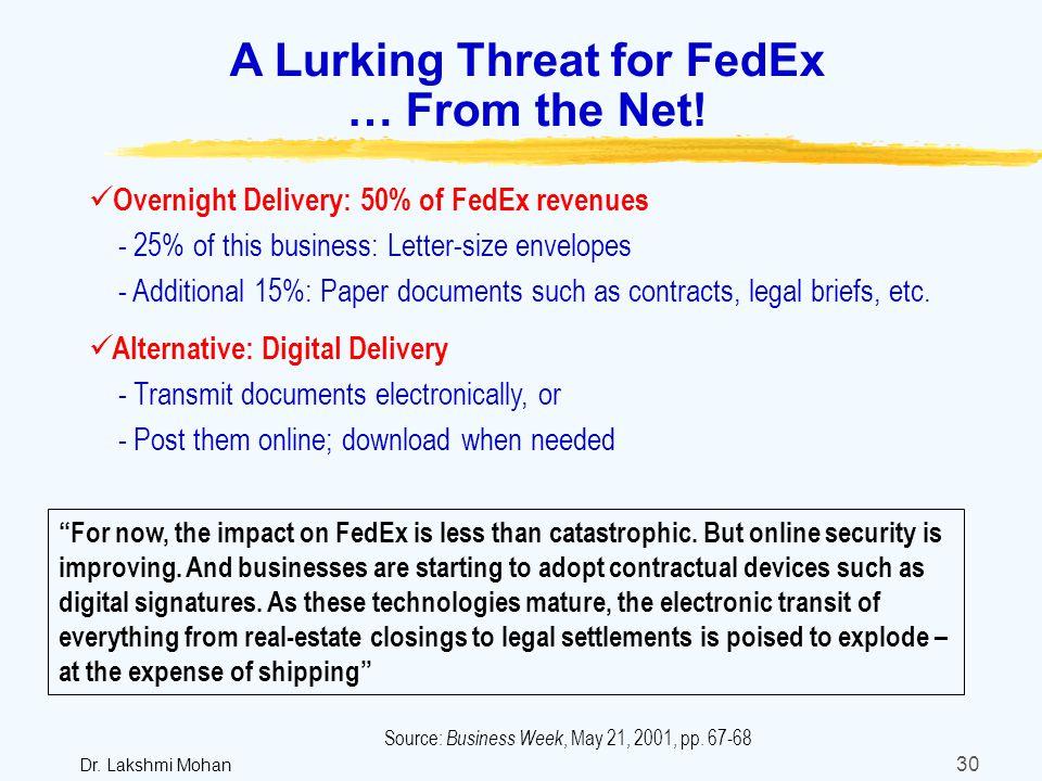 fedex case study final paper