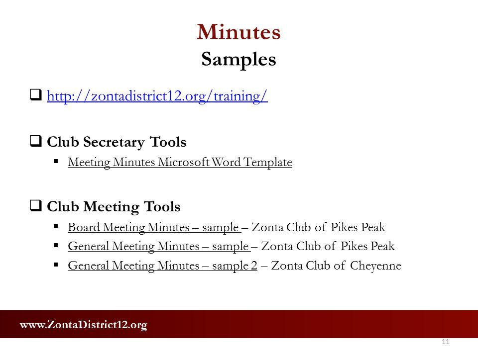 Club Secretary Training July 23 & 25, Ppt Download