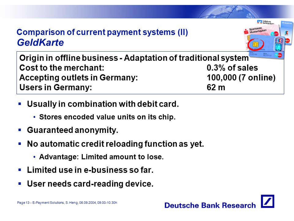 Page 13 - E-Payment Solutions, S.