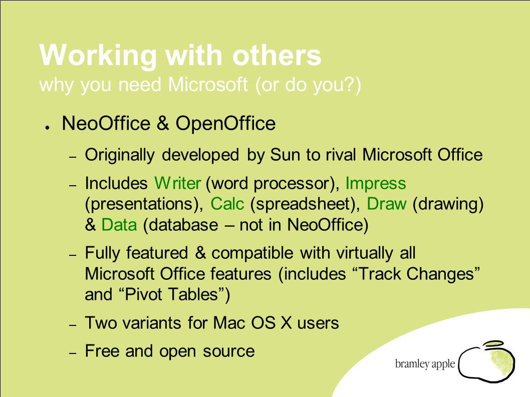 neooffice & openoffice the free alternative to microsoft ® office, Presentation templates
