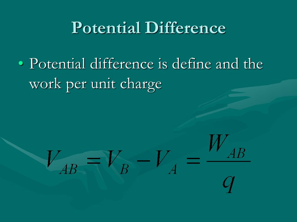 Think About It… Note the four expressions developed for force, electric field intensity, work and voltage.