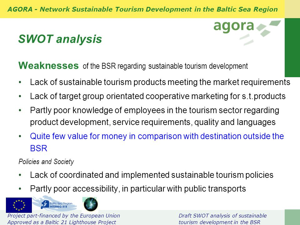 tou201 sustainable tourism group assignment draft Over 90 public, private and civil sector tourism stakeholders attended a presentation of the draft update to the national tourism policy held in belize city on august 3, 2017.