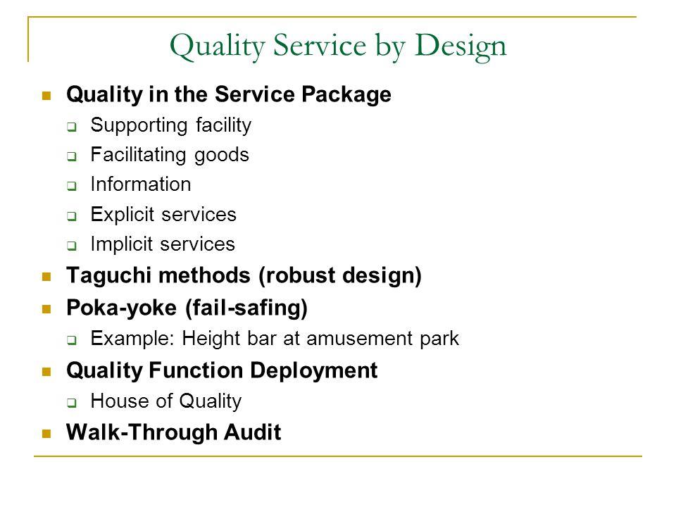 service quality audit