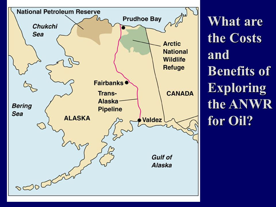 What are the Costs and Benefits of Exploring the ANWR for Oil