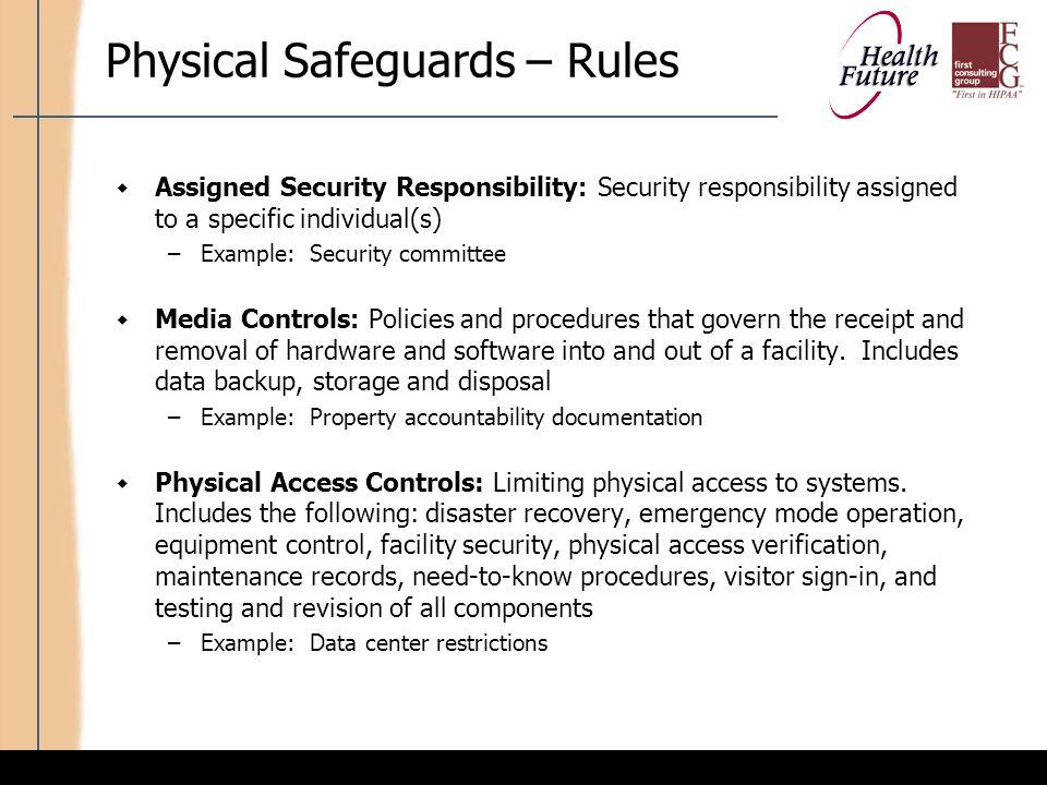 HIPAA 203: Security An Introduction to the Draft HIPAA Security ...