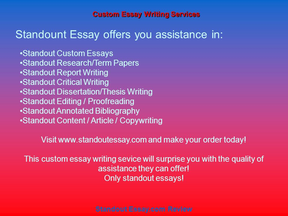 Custom Dissertation Writing Service Nursing