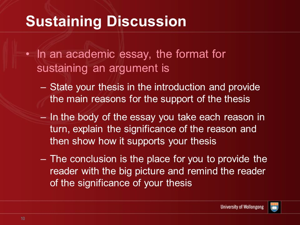 written interview essay format