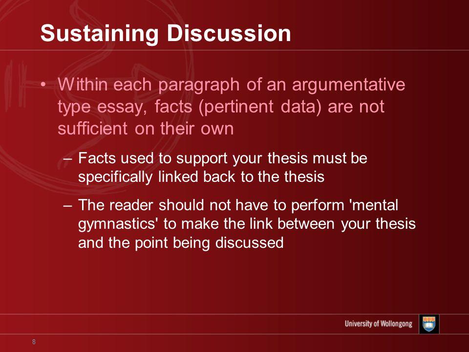 Discussion Essays