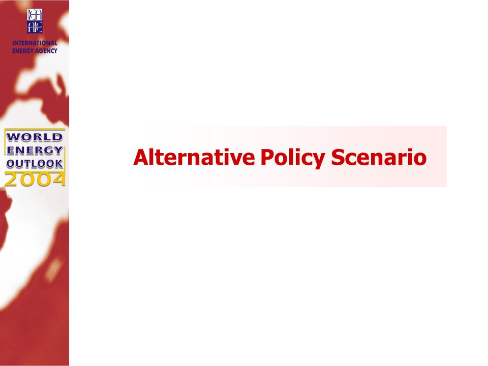 Alternative Policy Scenario