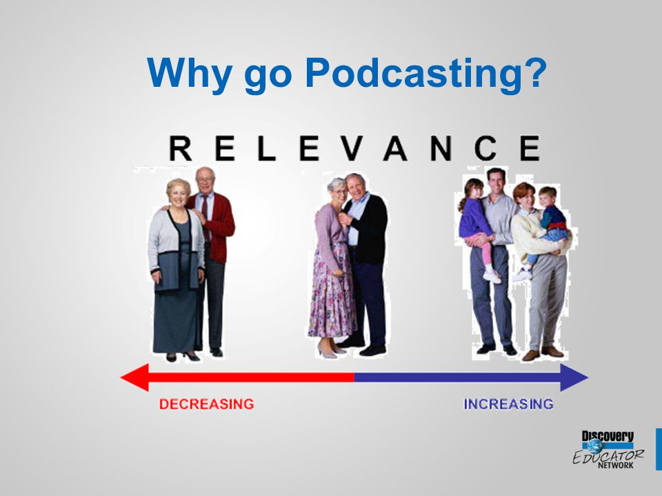 Why go Podcasting