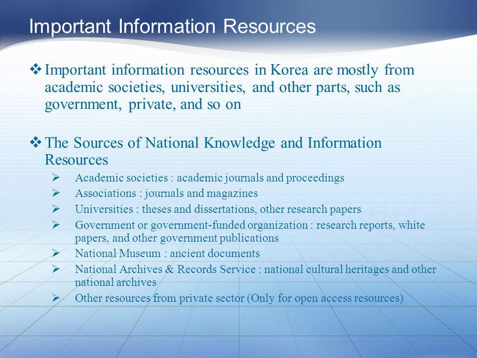 Academic Dissertations