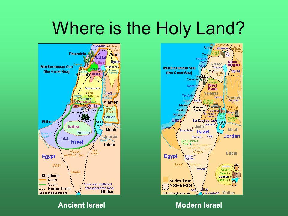 The Holy Land Jerusalem Judaism Christianity And Islams - Where is jerusalem