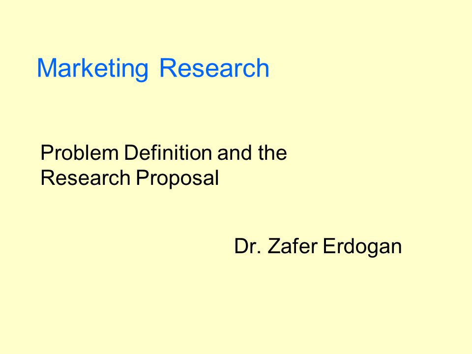 problem definition in research paper The marketing research problem specifies what info is needed to solve the problem and how that info can be obtained efficiently and effectively state the research objectives • the climax of the problem definition is a statement of the research objectives • these are stated in terms of the.