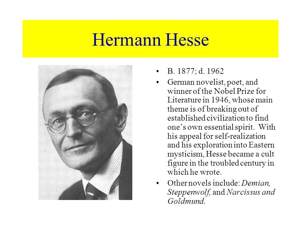 an analysis hermann hesse on writing his novel demian