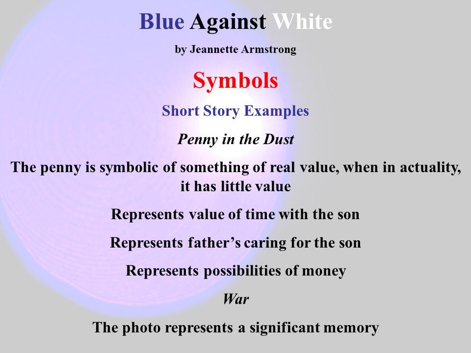 blue against white armstrong