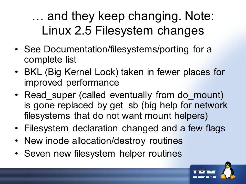 "Presentation ""Samba, CIFS and Linux Network Filesystems Steve ..."