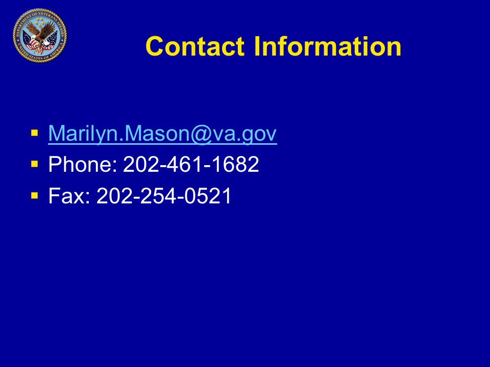 Contact Information    Phone:  Fax: