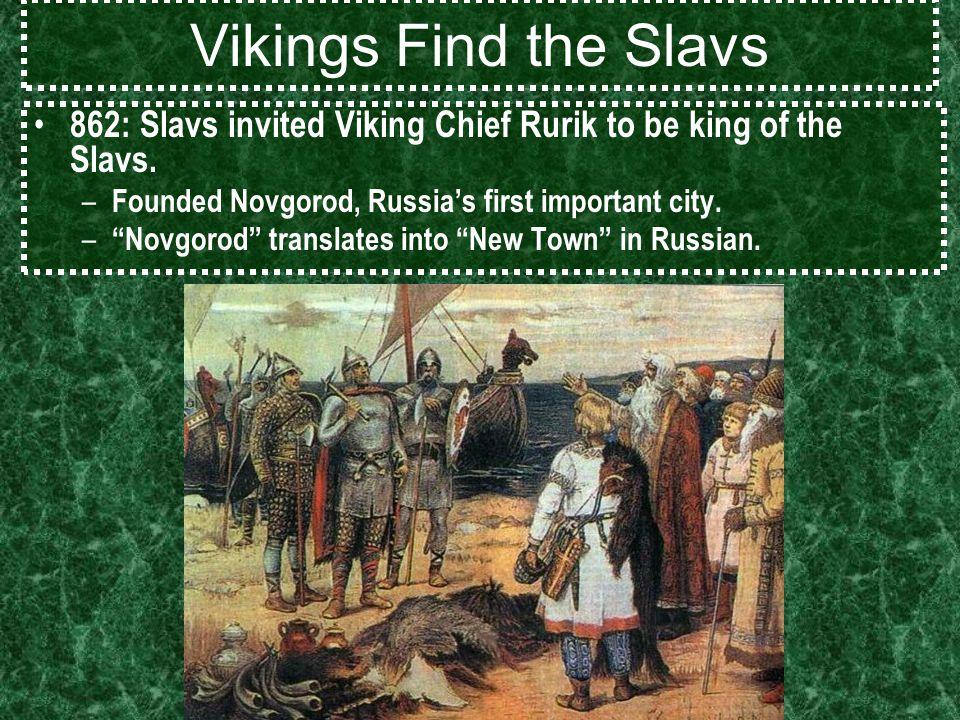 Vikings Russians Mongols AKS E G Missionaries Reach The - Russian vikings