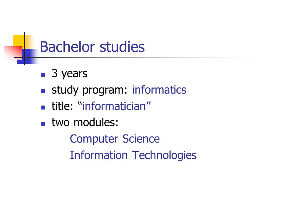 bachelor of science in information technology essay Bachelor of science (bs / bsc), information technology (it) degree - salary - get a free salary comparison based on job title, skills, experience and education.