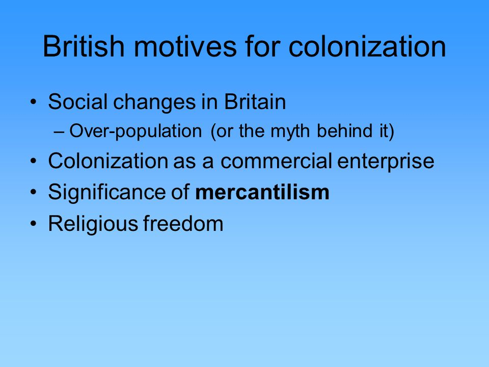 british colonization Colonialism is a practice of domination, which involves the subjugation of one people to another one of the difficulties in defining colonialism is that it is hard to distinguish it from imperialism.