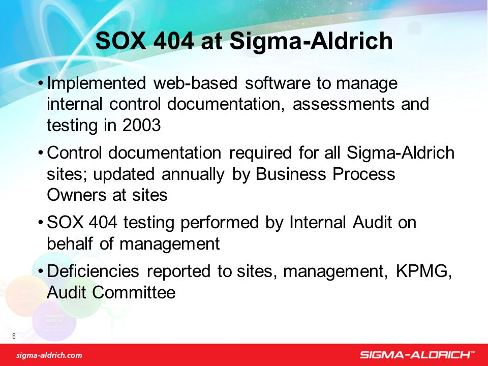 8 8 - Sox Process Documentation