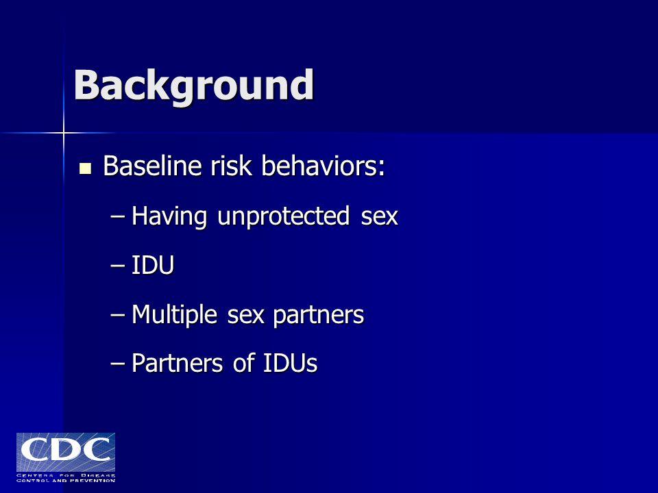 Dangers of having unprotected sex
