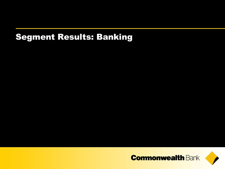 Segment Results: Banking