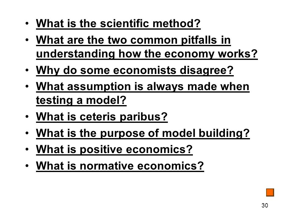 30 What is the scientific method.