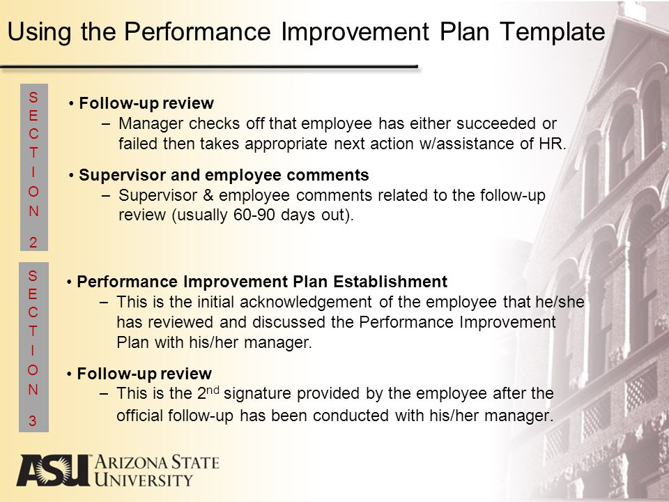 Doc9001165 Performance Improvement Template 40 Performance – Sample Employee Performance Improvement Plan Template