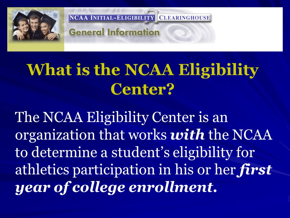 Printables Ncaa Eligibility Worksheet ncaa naia eligibility informational meeting information and what is the center an organization that works