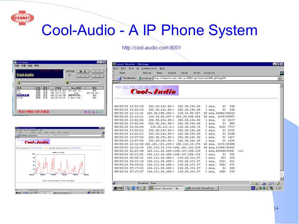 14 Cool-Audio - A IP Phone System