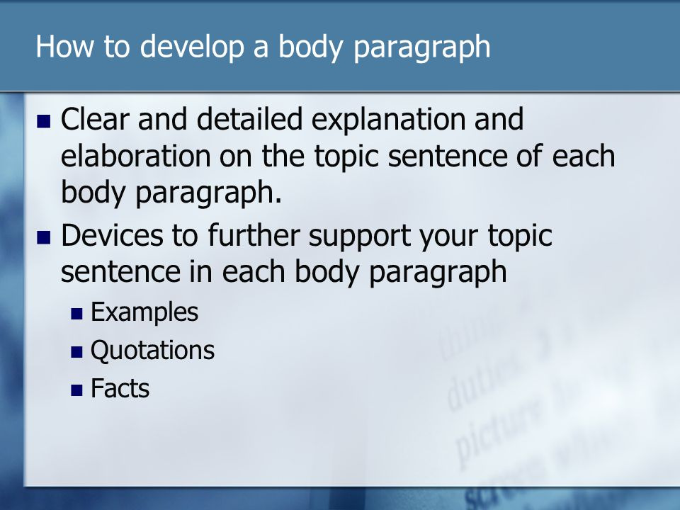 explanation/illustration essay Every student needs to master the skill of expository essay writing these tips can guide elementary, middle school, and high school writers with writing an expository essay.