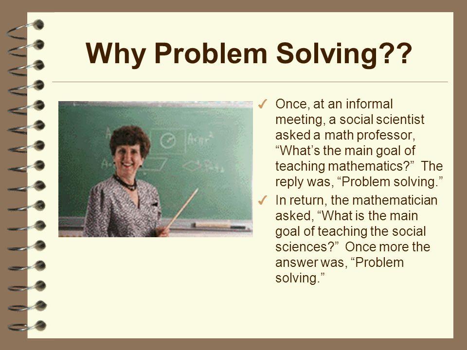 Polya problem solving process