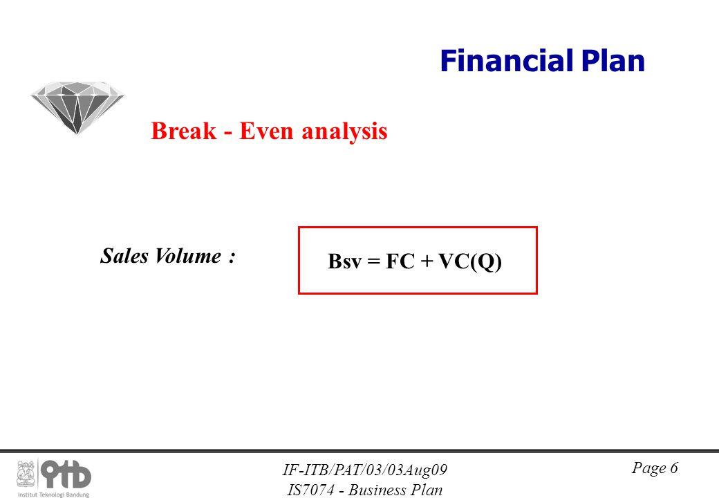 Vc business plan