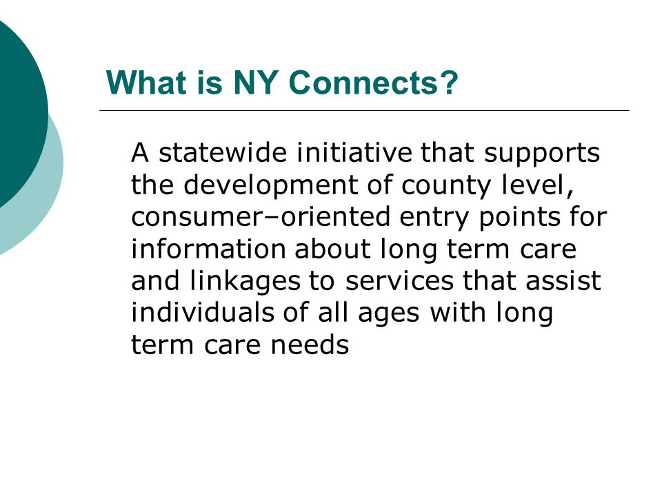 What is NY Connects.