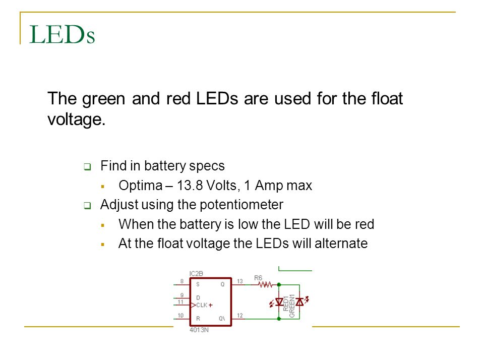 Solar charge controller with dump load circuit built by matt leds the green and red leds are used for the float voltage sciox Choice Image