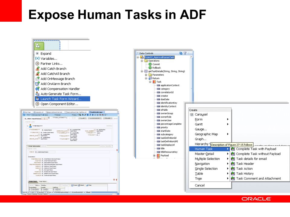 Expose Human Tasks in ADF