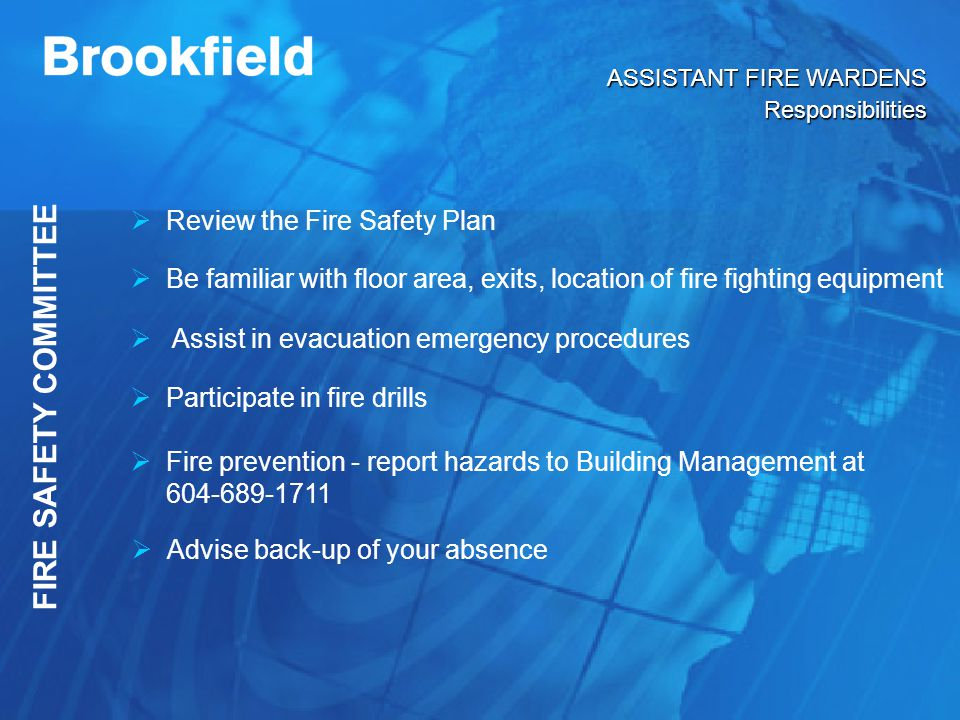 Fire Warden Training Powerpoint Download - milkxilus
