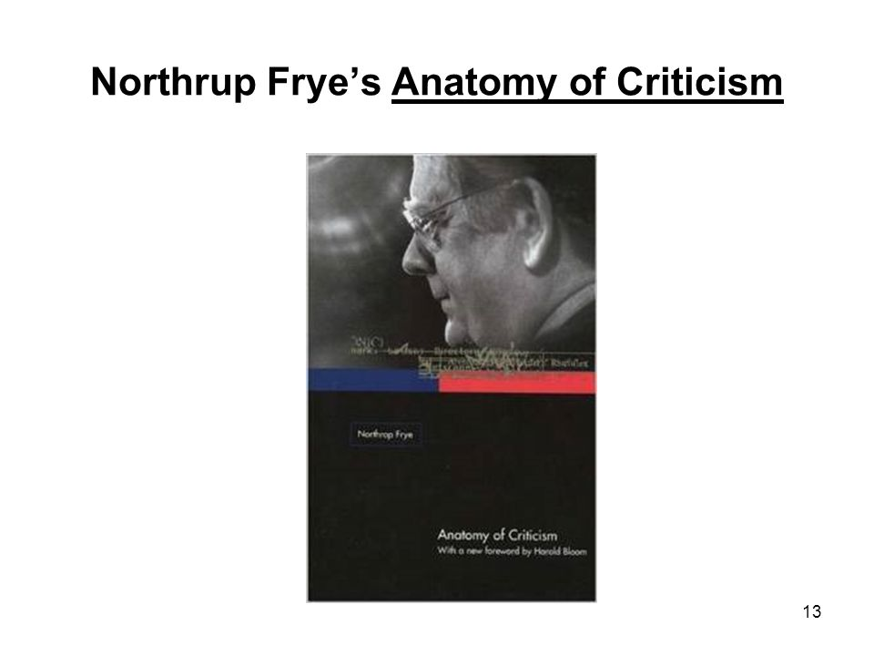 Magnificent Frye Anatomy Of Criticism Image Collection - Anatomy ...