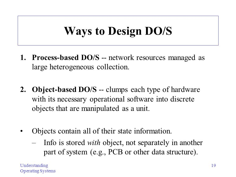 "Presentation ""Understanding Operating Systems 1 Ch. 10 ..."