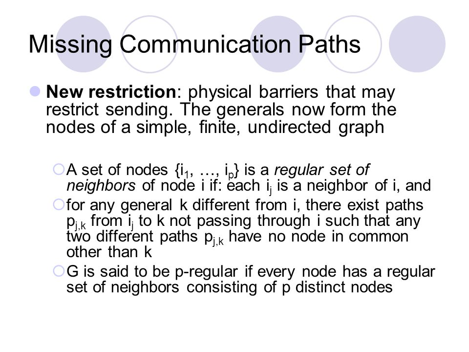 New restriction: physical barriers that may restrict sending.