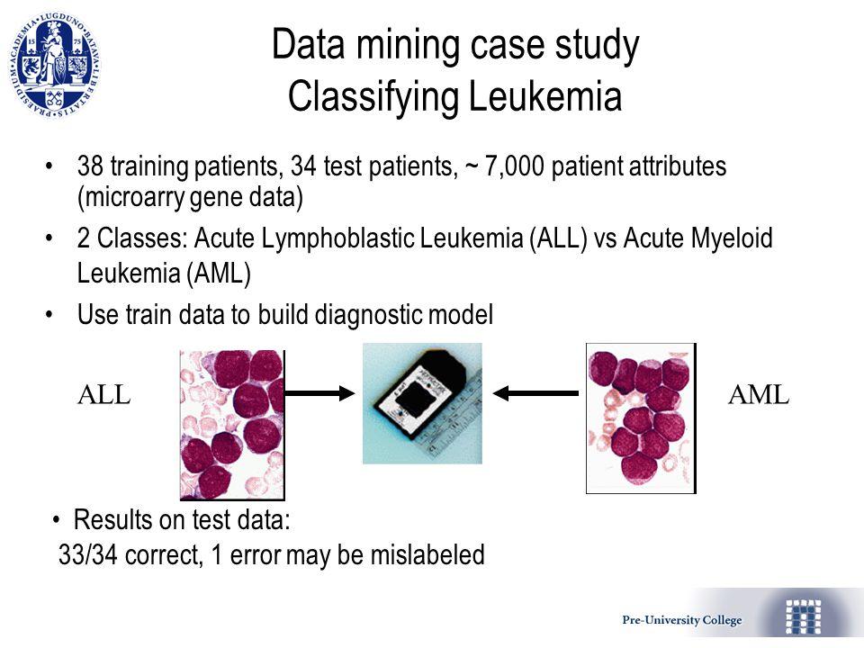leukemia case study