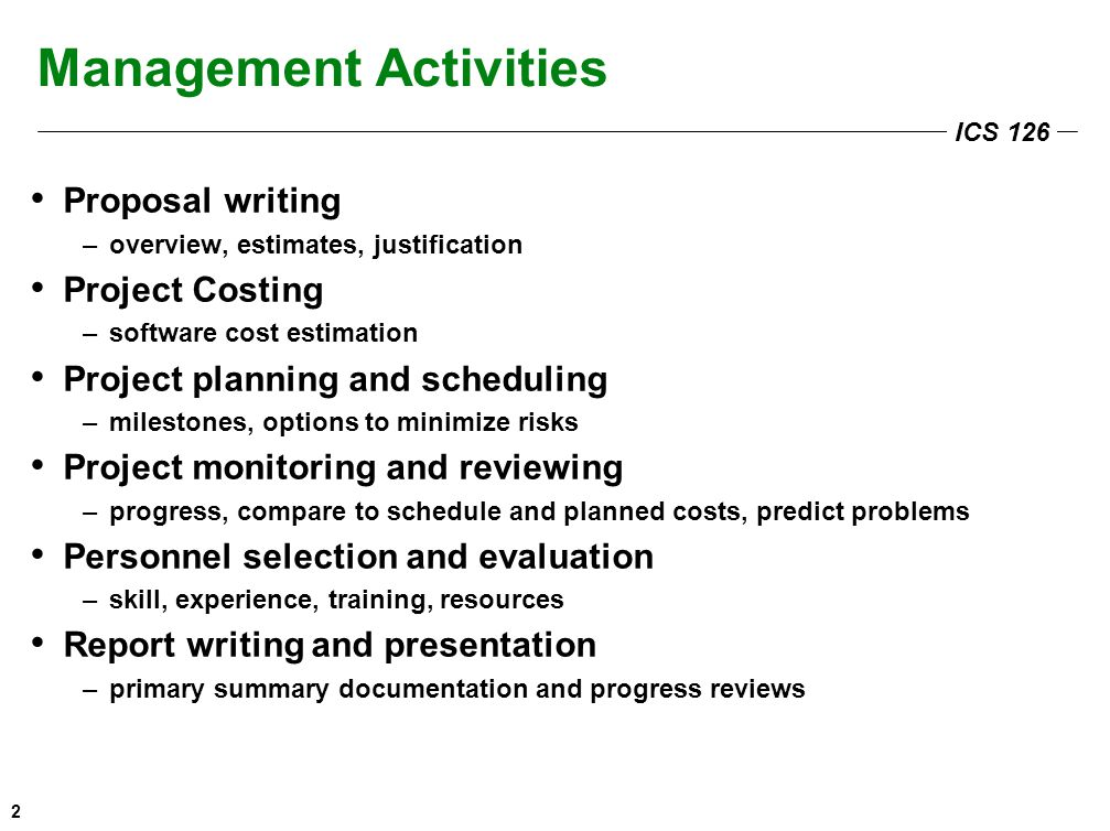 Ics Management Poor Management Is The Downfall Of Many Software