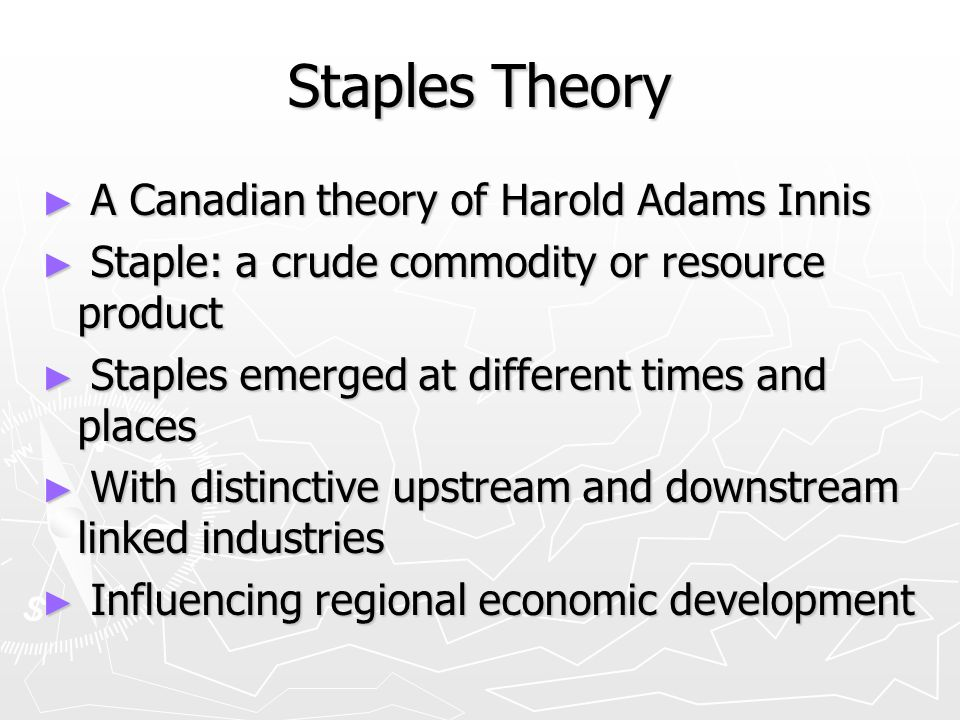 Staple thesis