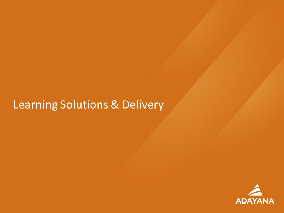 18 Learning Solutions & Delivery