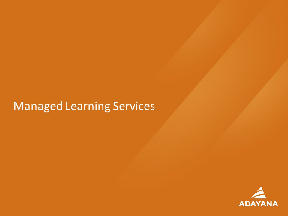 23 Managed Learning Services