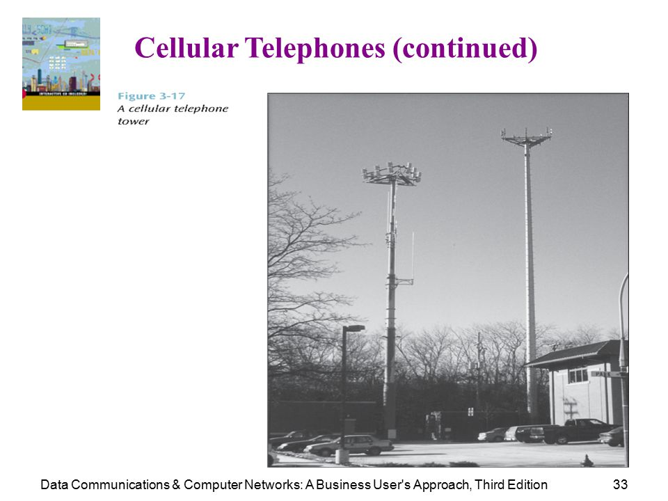 Data Communications & Computer Networks: A Business User s Approach, Third Edition33 Cellular Telephones (continued)
