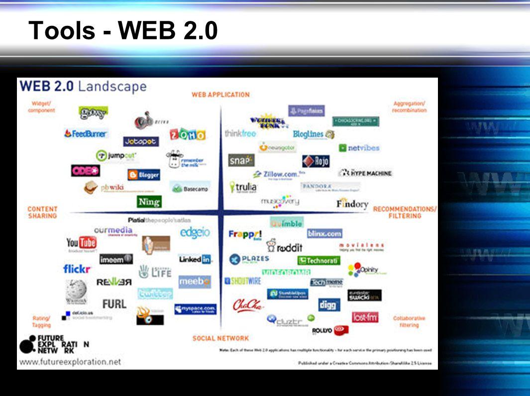 Tools - WEB 2.0