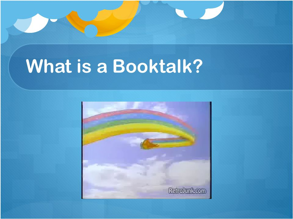 What is a Booktalk
